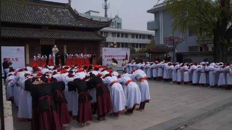 宝应城中小学