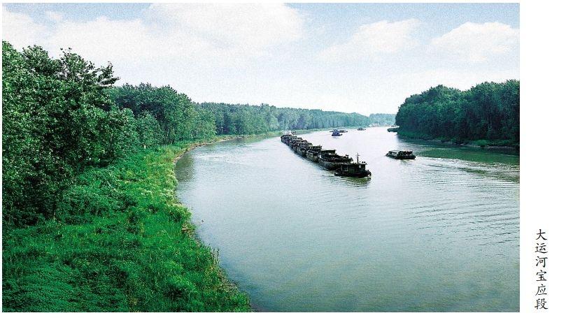 好消息!宝应城区将呈现18万平方米的运河风光带