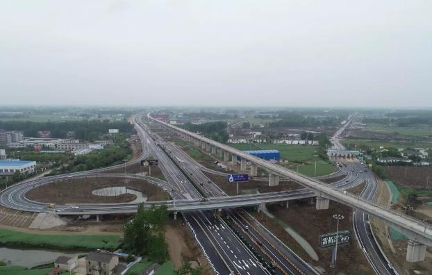 最新进展!京沪高速扬州段扩建工程过半