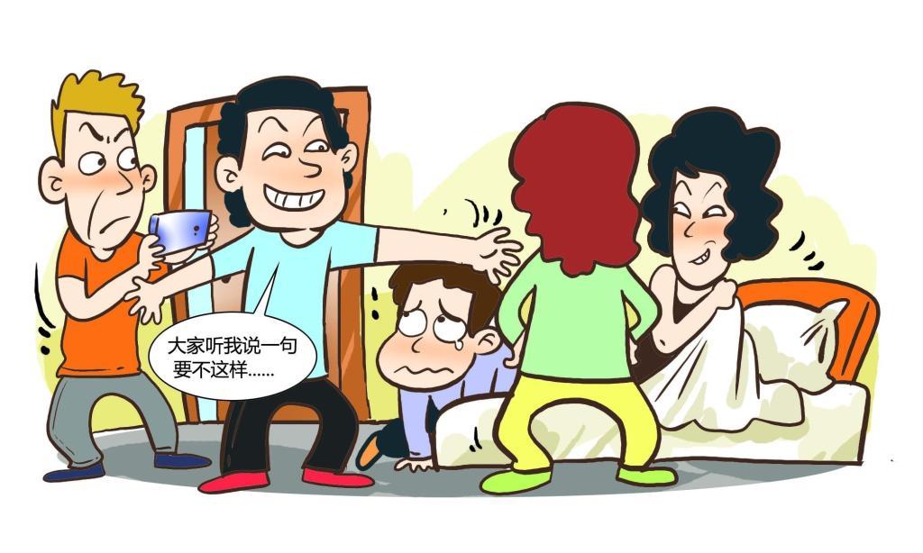 """太狗血!宝应一女子自导自演""""捉奸戏"""""""