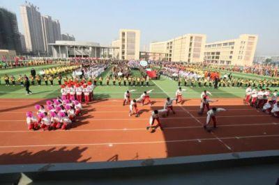 扬体艺之帆,展国际风采!宝应开发区国际学校第五届体育文化艺术节隆重开幕