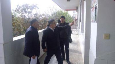 宝应县政府领导深入学校开展安全检查,筑牢校园安全防线