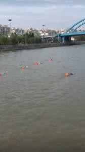 县水之缘游泳俱乐部试游宝射河