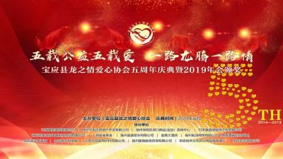 宝应县龙之情爱心协会五周年庆典曁2019年会颁奖