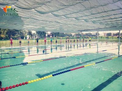 射阳荷园温泉游泳馆启动暑期中小学生游泳培训班
