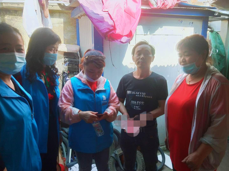 宝应云鸽爱心协会第72期老城区走访贫困学生